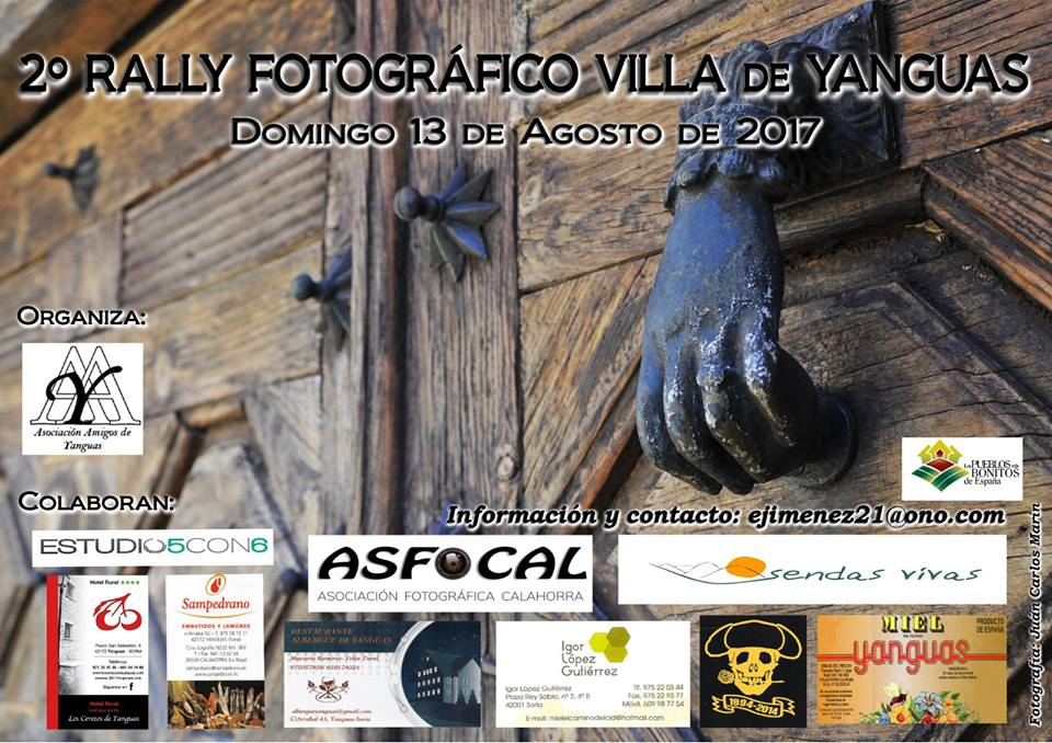 II RALLY FOTOGRÁFICO VILLA de YANGUAS