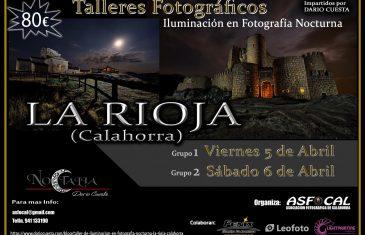 Talleres de fotografía nocturna por Dario Cuesta