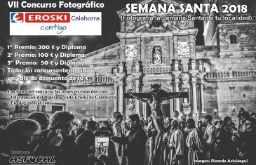 VII Concurso fotográfico «la semana santa de tu localidad» organizado por EROSKI